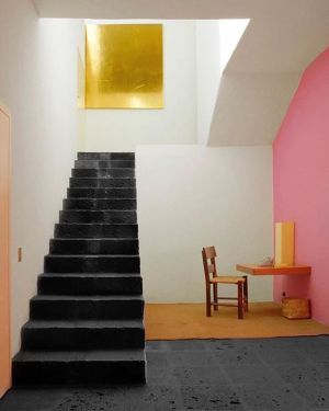 Wonderful Mexican architecture where colour is in the lead!  @casaluisbarragan Casa Luis Barragán was built in 1948 in Mexico City by Luis Barragán. makinglivinglovely #interiors #architecture #interiorstyling #colourgram #decorating #amazingdesign #inter